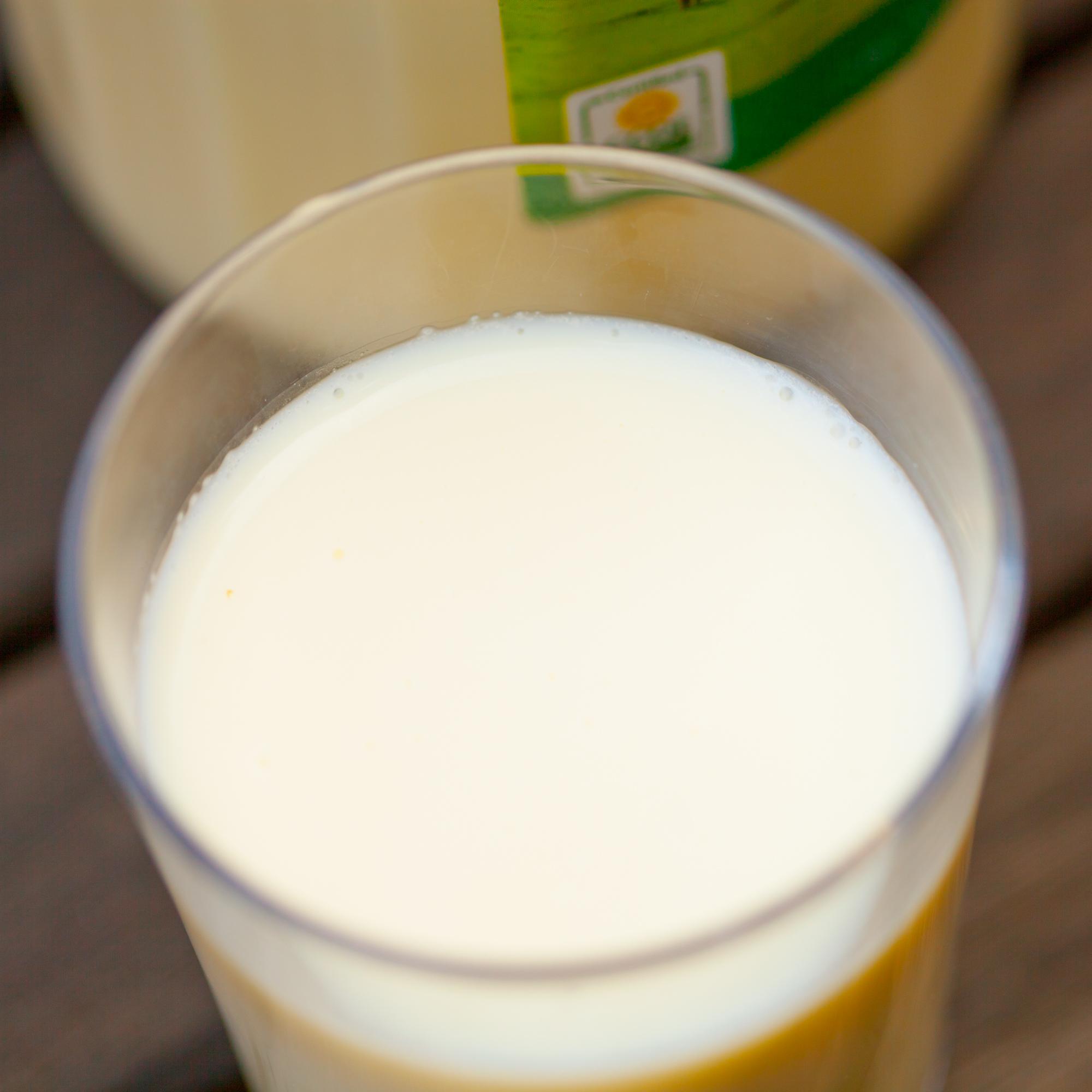 top milk