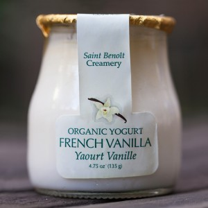 french vanilla yogurt 5 oz glass
