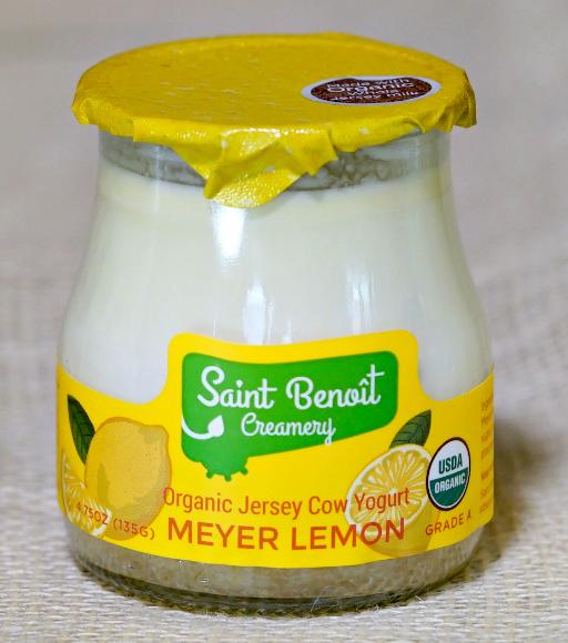 meyer lemon yogurt 4.75 oz glass