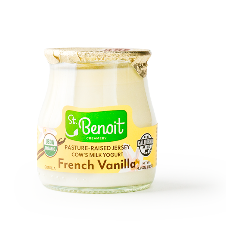 French Vanilla Yogurt