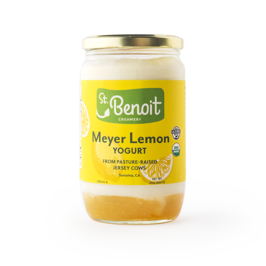 St. Benoit Lemon Yogurt