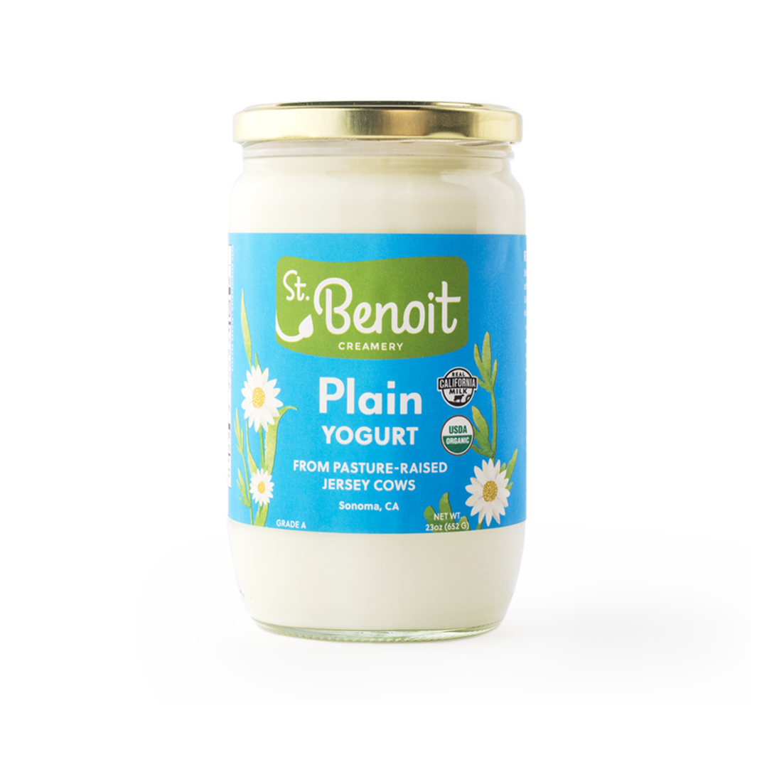 St. Benoit Plain Yogurt